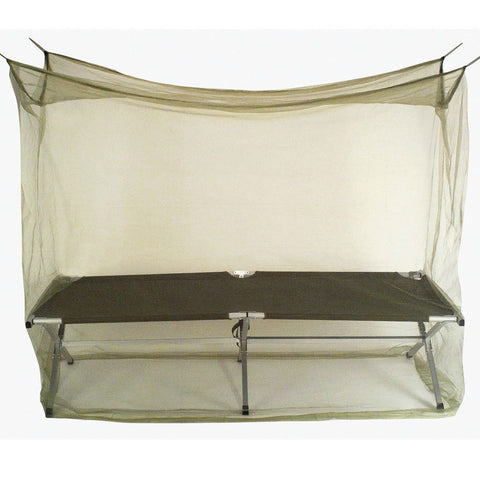 Basic Military Mosquito Net Cot Enclosure