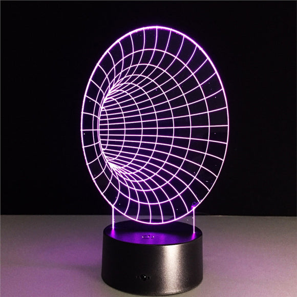 3D Wormhole Lamp