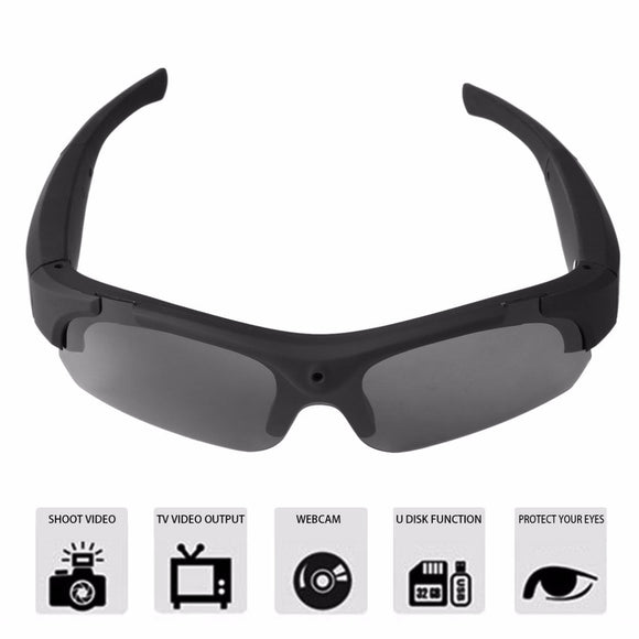 Polarized Camera Recording Sunglasses - 1080p HD