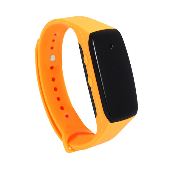 Wearable Wristband Camera -  Bracelet Camera Multifunctional TF Card Rechargeable Sports DVR Smart Wristband Camera
