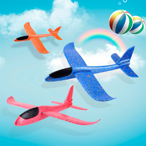 35/48 CM EPP Foam Hand Throw Airplane Outdoor Launch Glider Plane Kids Gift Toy Interesting Toys