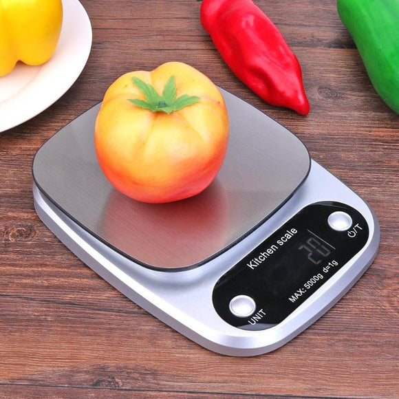 5KG/10KG LED Digital Kitchen Scale -  Food Diet Balance -LCD Screen Weighing Scale Baking Pastry Tools Kitchen Gadget