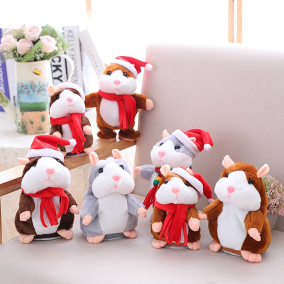 Recording Christmas Hamster Dolls