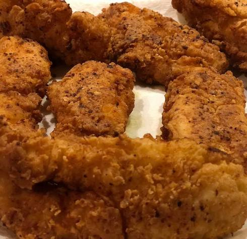 Home Made Fried Chicken
