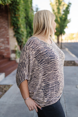 Zebra Safari Sweater