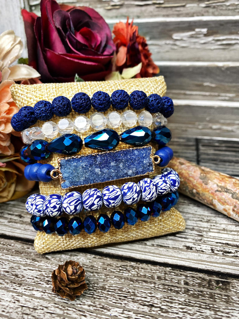 Bangle Set - Classy Blues