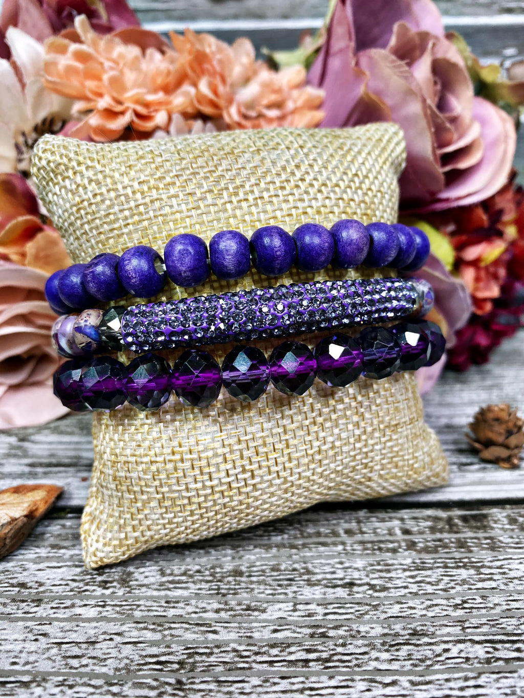 Bangle Set - Purple Party