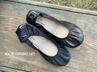 Storehouse Flat oil tanned - Black