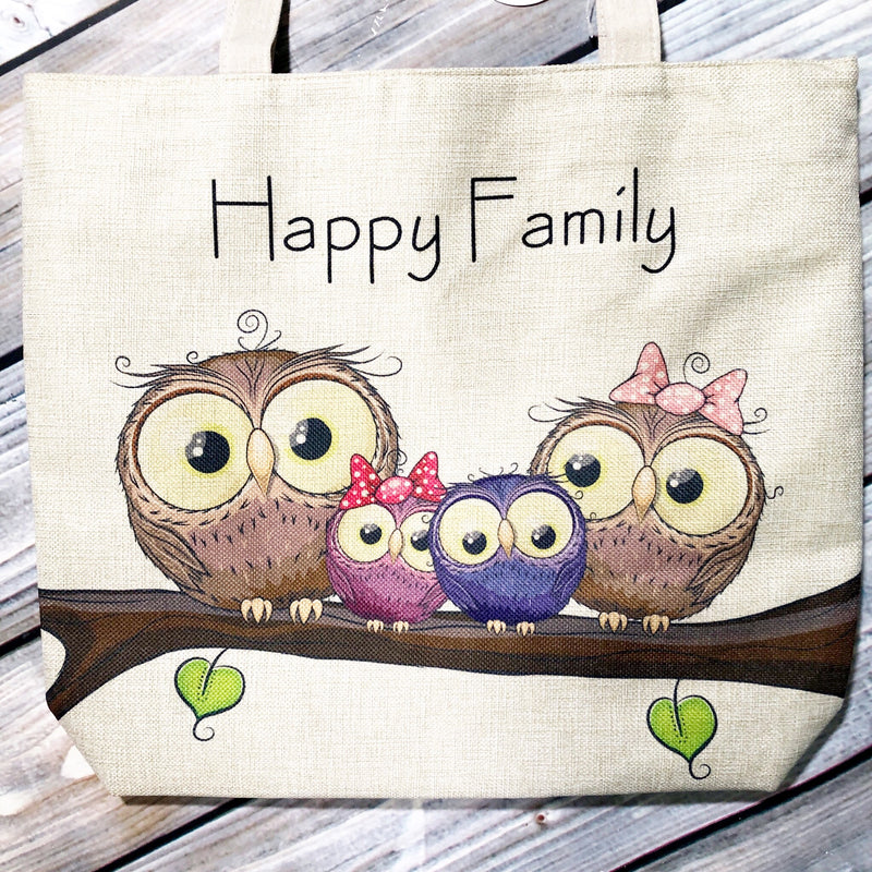 Canvas Bag - owl
