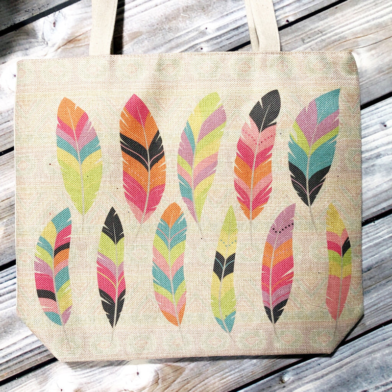 Canvas Bag - Feathers