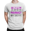Course Shirtp Pharmacy Men Women's T-shirt on sale Black White Tee Shirt