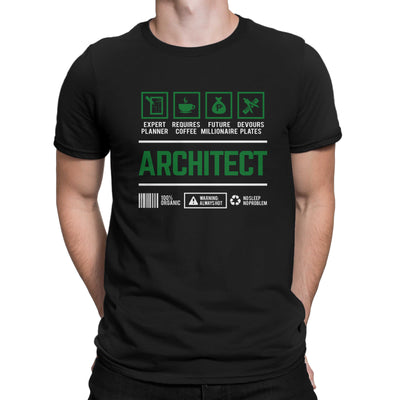 Career Shirt Architect Men Women's T-shirt on sale Black White Tee Shirt Certified Public Accountant