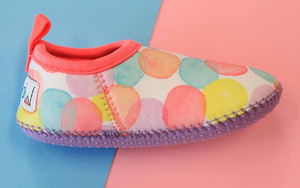 DOTTY TODDLER BEACH BOOTIES