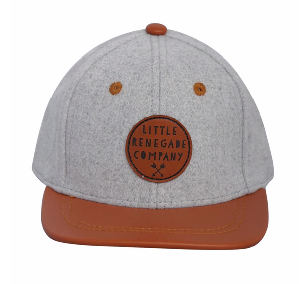 GREY FELT & TAN Cap