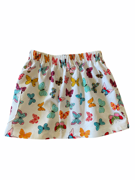 White Butterflies Skirt