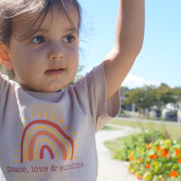 PEACE, LOVE & SUNSHINE Tee