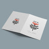 Decorative Folk Thistle Christmas Card Pack - Ditsy Chic