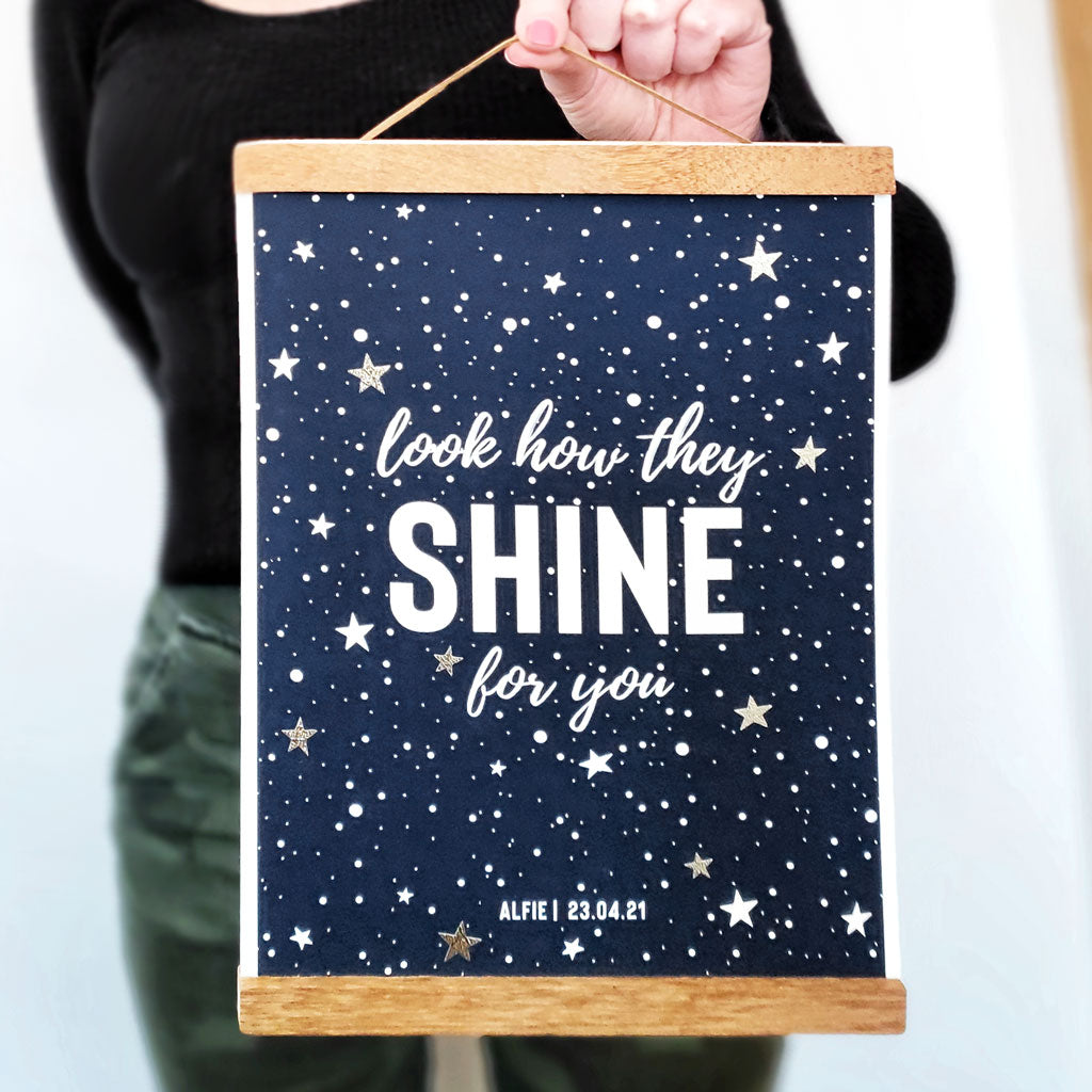 Look how they shine for you print - Ditsy Chic