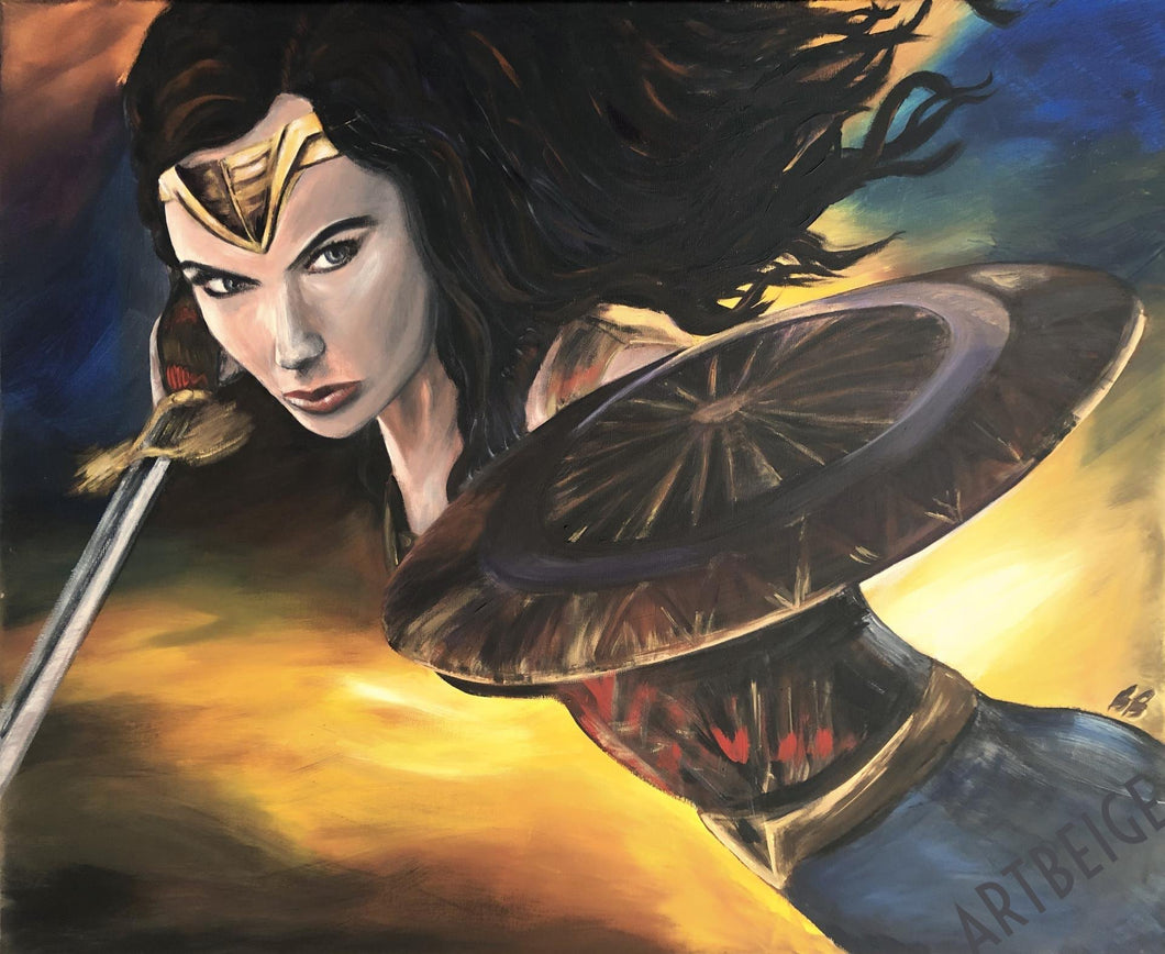 Wonder Woman, Collection Super-Héros Artbeige by Bénédicte Eigelthinger Brigeot