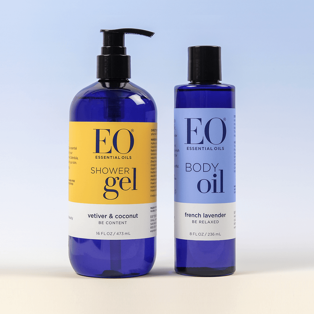 EO Soften Often Shower Gel & Body Oil Duo