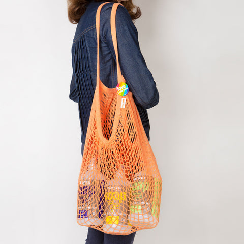 Everyone Reusable Mesh Tote Bag