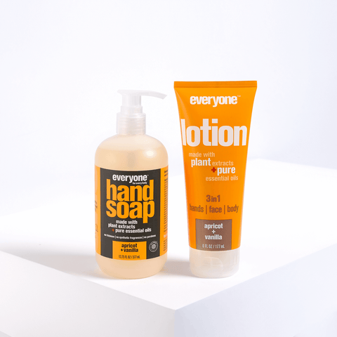 Happy Hands Soap + Lotion Set - Apricot Vanilla