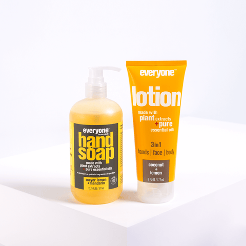 Fresh Hands Soap + Lotion Set - Lemon, Mandarin & Coconut