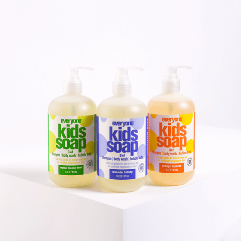 Kids' 3 in 1 Bath Soap Set
