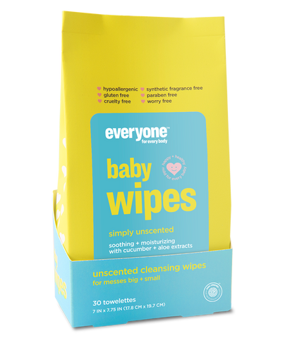 Baby Wipes Simply Unscented