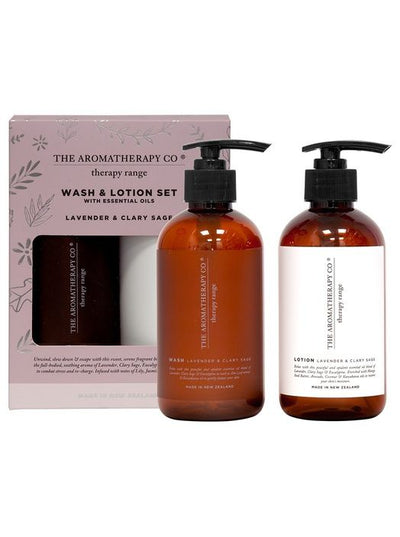 THE AROMATHERAPY CO - Therapy Kitchen, Wash and Lotion Pump Pack - Makers On Mount