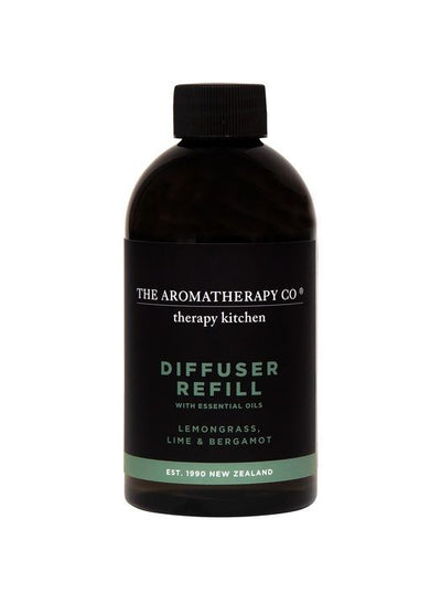 AROMATHERAPY CO - Kitchen Diffuser Refill 250ml, Lemongrass, Lime & Bergamot - Makers On Mount
