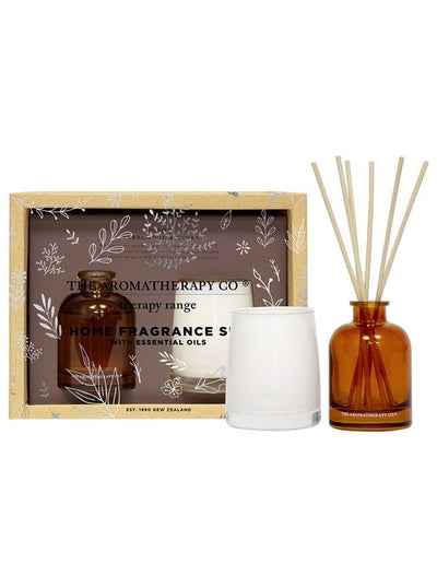 THE AROMATHERAPY CO - Therapy Mini Home Fragrance Gift Set, Strength - Makers On Mount