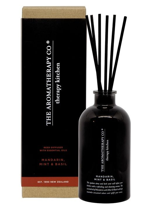 THE AROMATHERAPY CO -Therapy Kitchen, Mandarin Mint & Basil, Diffuser