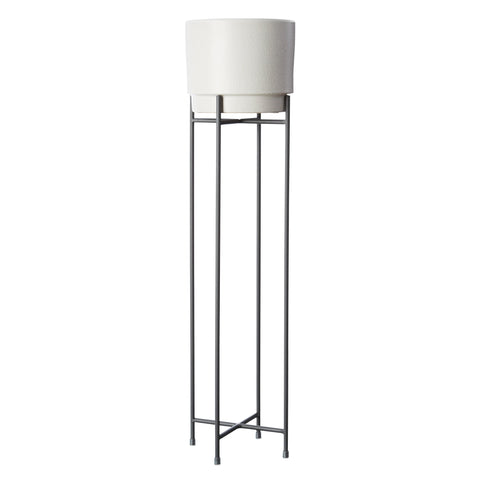 MILK & SUGAR - Pot Stand, Tall Charcoal
