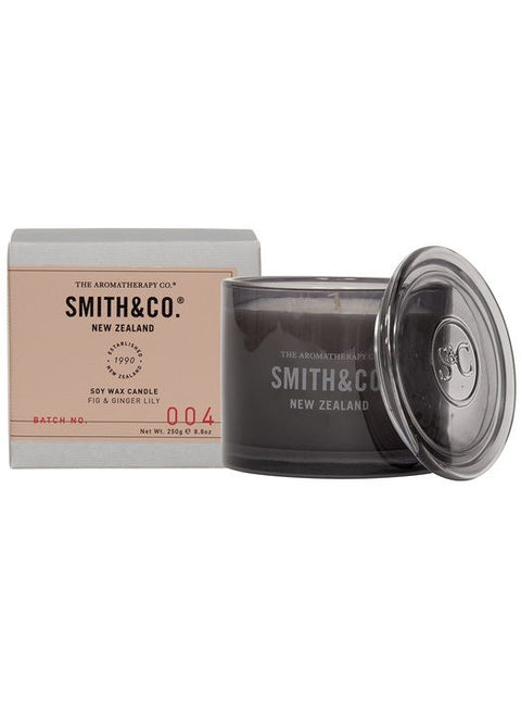 SMITH & CO - Fig & Ginger Lily, Candle