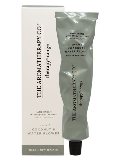 THE AROMATHERAPY CO - Coconut & Water Flower, Hand Cream