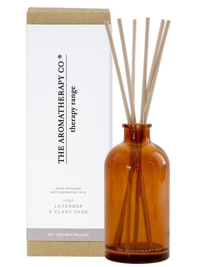 AROMATHERAPY CO - Diffuser, Lavender & Clary Sage, Relax - Makers On Mount