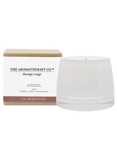 AROMATHERAPY CO - Candle, Sweet lime & Mandarin, Uplift - Makers On Mount