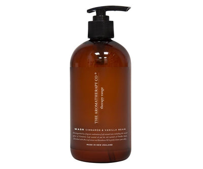 THE AROMATHERAPY CO - Therapy Range, Hand & Body Wash, Cinnamon & Vanilla Bean
