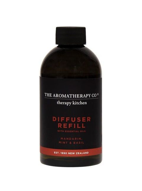 AROMATHERAPY CO - Kitchen Diffuser Refill 250ml, Mandarin, Mint & Basil - Makers On Mount
