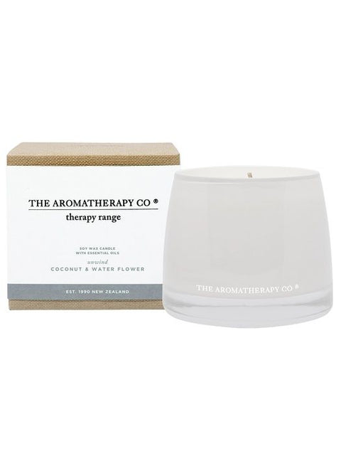 AROMATHERAPY CO - Coconut & Water Flower, Candle