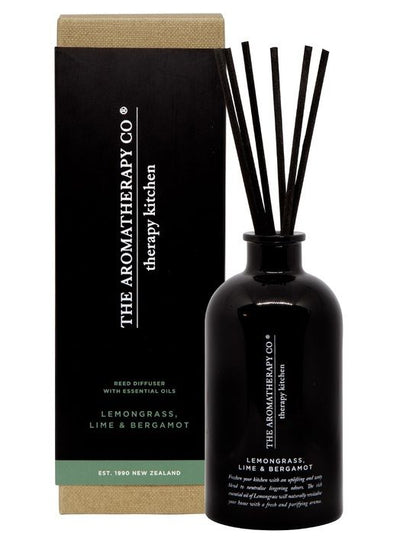 THE AROMATHERAPY CO -Therapy Kitchen, Lemongrass Lime & Bergamot, Diffuser