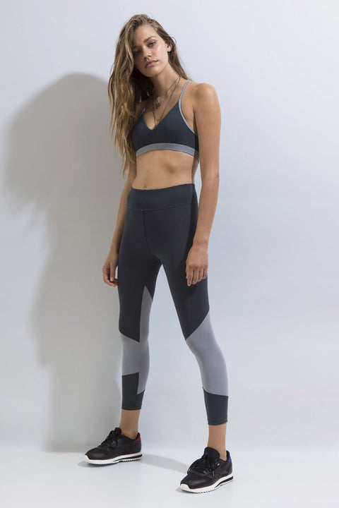 FIRST BASE - Fast Track 7/8 Legging, Titanium