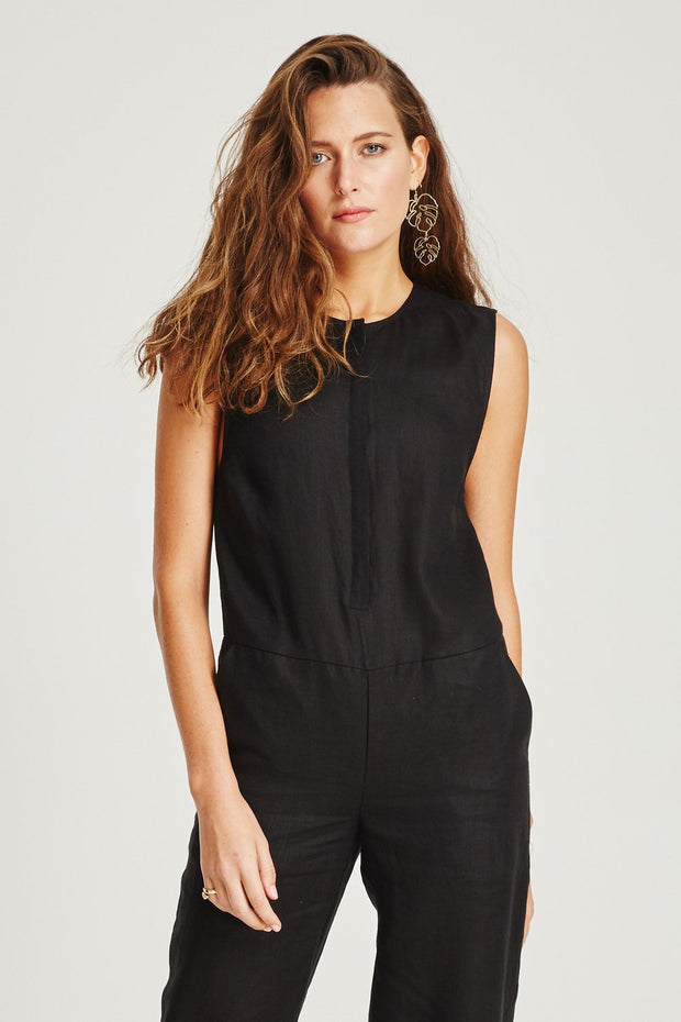 VÉSTIRE - Frida Jumpsuit, Black - Makers On Mount
