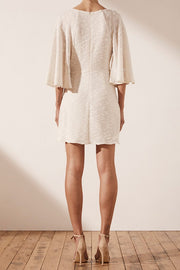 SHONA JOY - Ortiz Draped Kimono Mini Dress - Makers On Mount