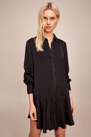 THE FIFTH - Archer Shirt Dress, Black - Makers On Mount