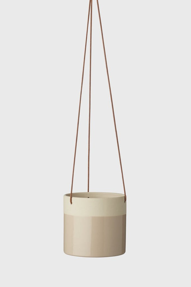 EVERGREEN COLLECTIVE - Billie Hanging Pot Small, Desert