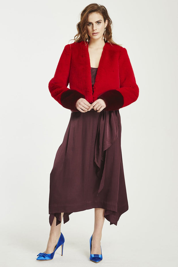 VÉSTIRE - Little Thing Skirt, Cabernet - Makers On Mount