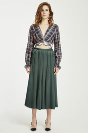 VÉSTIRE - Beautiful Disaster Skirt, Pine Green - Makers On Mount