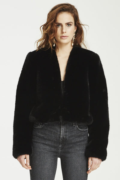 VÉSTIRE - Fade Into You Coat, Black